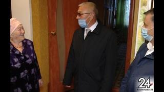 Ветеранов и долгожителей в Альметьевском районе навещают местные депутаты