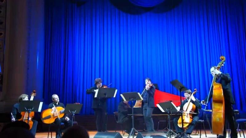 Brandenburg concerto № 6 Vladimir Shulyakovskiy Nazar Kozhukhar Musica Antiqua Russica