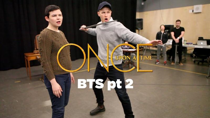 BTS OUAT Lana Parrilla Ginnifer Goodwin Josh Dallas Dance Pt 2