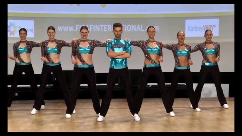 FISAF European Championship 2018 - RheAxion Lose Control Hard(t) Team