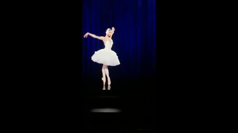 Балерина лебедь