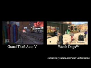 Watch Dogs VS GTA 5  GTA 5 VS Watch Dogs
