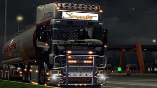 Euro Truck Simulator 2 (ETS2) - Пора бы скупить гаражи в разных странах. Дальнобойщики мультиплеер