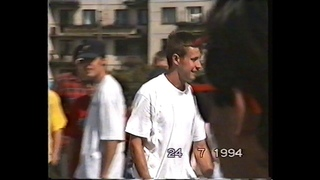 Rodney Mullen's perfomance on freestyle contest in Saint-Petersburg, Russia, 24/07/1994 (part 2)
