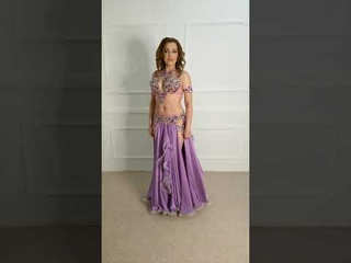 NEW belly dance costume from Aida Style
