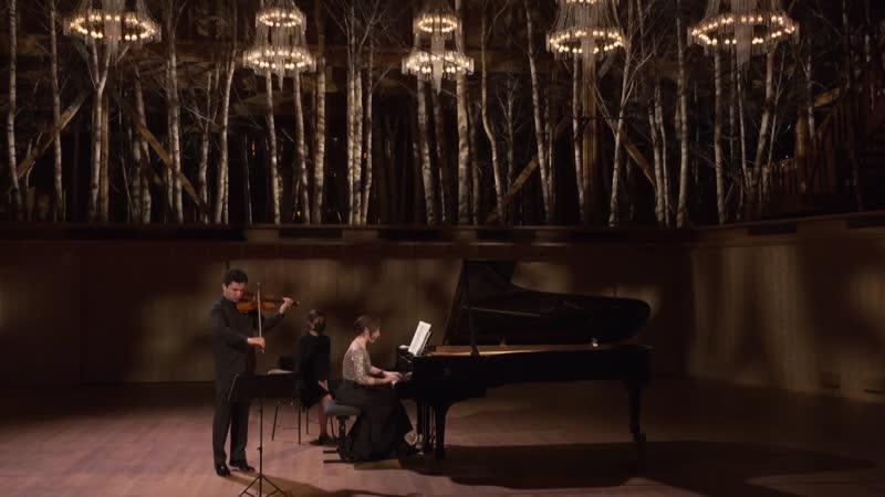 La Grange au Lac Sergey Khachatryan et Lusine Khachatryan - Mozart, Prokofiev et Franck (Évian, 7.07.2020)