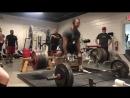 Джамал Браунер тянет 370 кг на 3