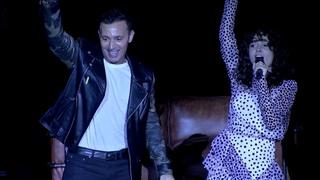 Zeynep Bastık ve Mustafa Sandal'dan Harbiye'de efsane Jest Oldu düeti