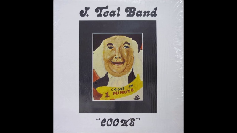 J Teal Band Cooks 1977 Mother Cleo Records vinyl FULL LP