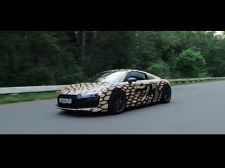 850 л.с. Audi R8 Twin Turbo vs 840 л.с. BMW M5 F90. Гоша VS Гурам