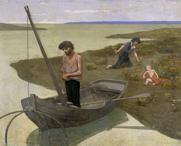 "Пьер Сесиль Пюви де Шаванн ""Бедный рыбак"", 1881"