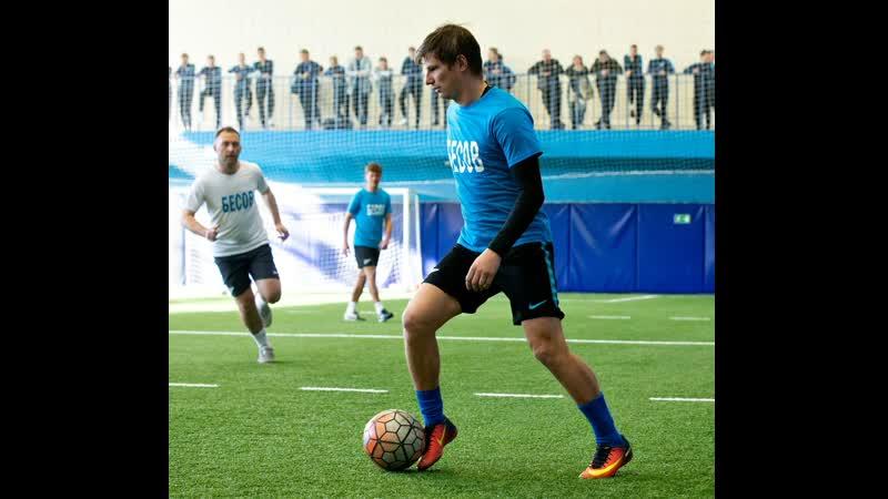 Матч в честь 95 летия Бесова тренеры Газпром Академии против выпускников 17 04 2019