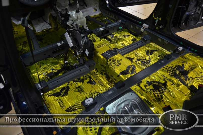 Шумоизоляция Mazda 6, изображение №3