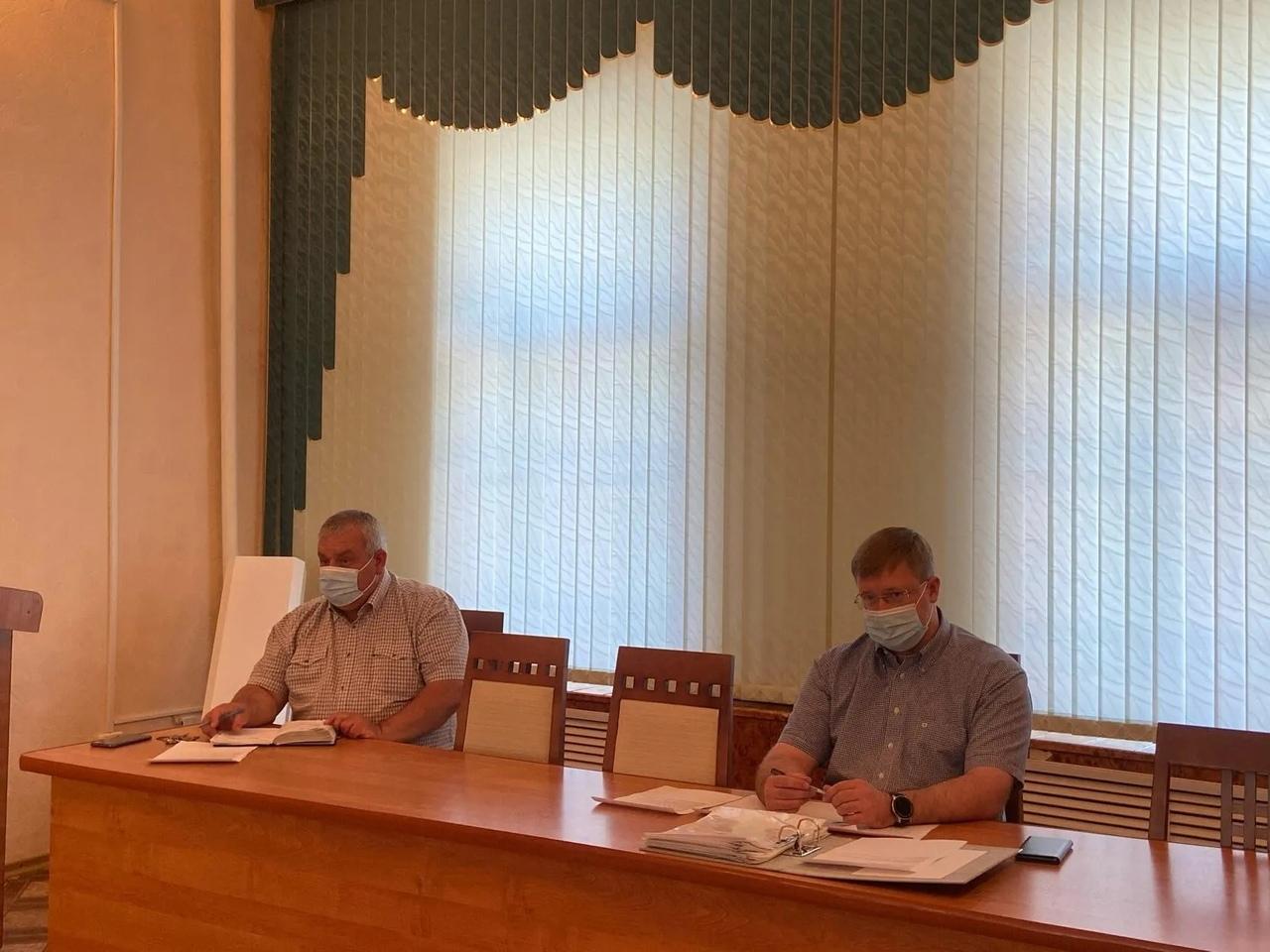 В администрации Петровского района состоялось очередное рабочее совещание, посвящённое вопросам подготовки к отопительному сезону 2020-2021 годов