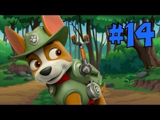 Щенячий патруль мегащенки#14 серия🎈На помощь друзьям. Трекер в джунглях на канале MiniMax.