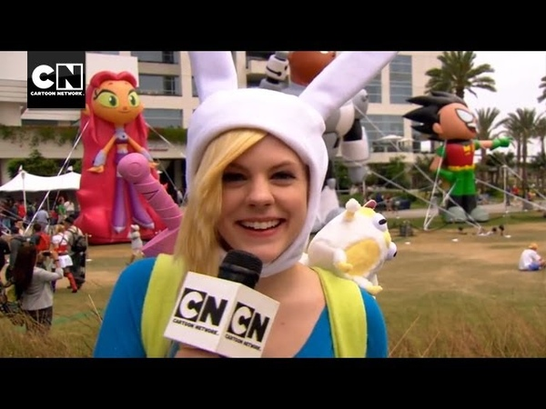 Chanelle's Comic Con Wrap Up SDCC 2013 Cartoon Network