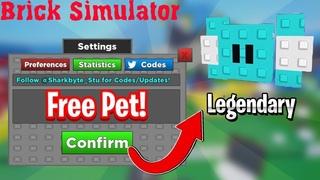 Симулятор разрушения кирпичей Роблокс. Брик симулятор + СУПЕР КОДЫ. Brick Simulator Roblox + CODES🔨🔨