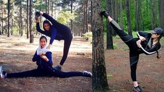 Iranian Girls Taekwondo Athletes Training and Best Kicks Skills @TKD Action