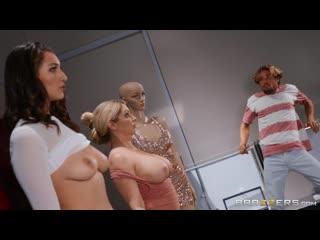 Кудрявый пацан трахнул милфу при ограблении, milf girl sex porn fuck bang boy toy doll busty big tit boob ass HD (Hot&Horny)