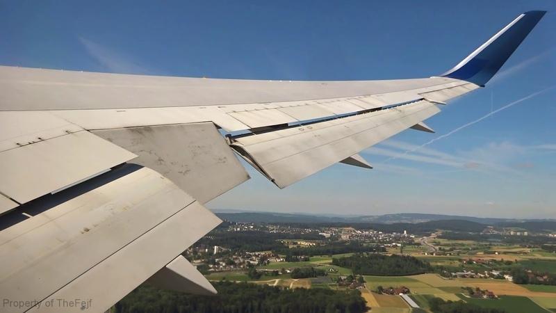 [FLIGHT TAKEOFF] Delta 767-300ER - Zurich Morning Takeoff