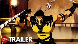 MORTAL KOMBAT LEGENDS: BATTLE OF THE REALMS Red Band Trailer (2021) Action Animated Movie