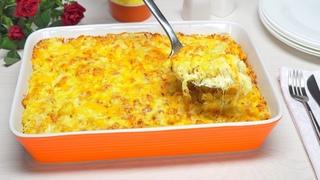 Очень вкусно и сытно! ЗАПЕКАНКА ИЗ МАКАРОН С СЫРОМ / Macaroni and cheese. Рецепт от Всегда Вкусно!