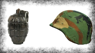 Что Будет Если Накрыть Гранату Шлемом?