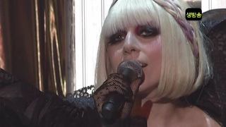 Lady Gaga - Just Dance Live at M!NET Countdown Special Stage (June 18th 2009)