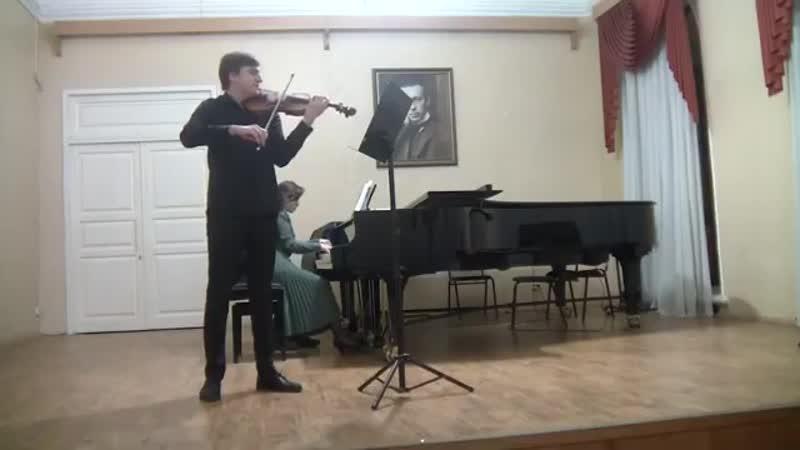 1499 4 Дуэт Аль Балауи Лаян и Нургаянов Азат Й Брамс Соната для скрипки и форт №2 A dur