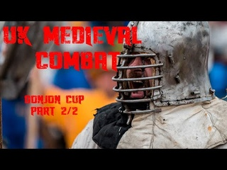 Medieval combat UK Donjon Cup male and female Highlights 2/2