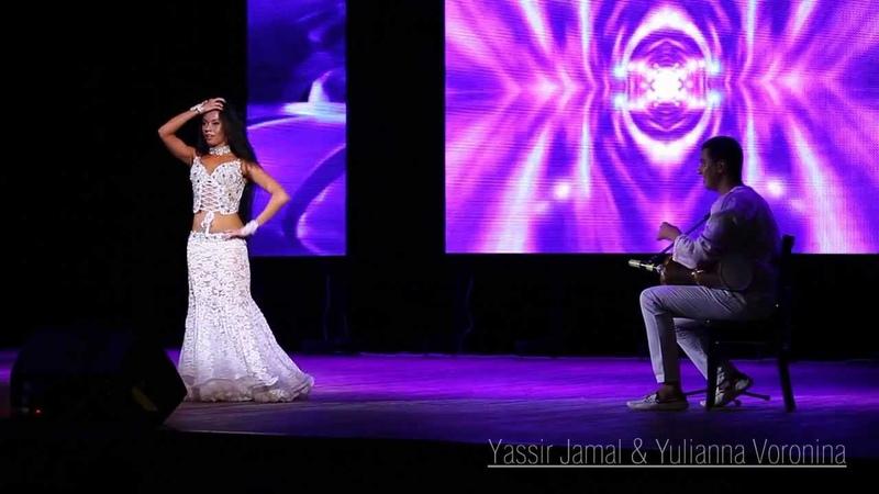 Yulianna Voronina Yassir Jamal Shereen Live Tabla Solo HD
