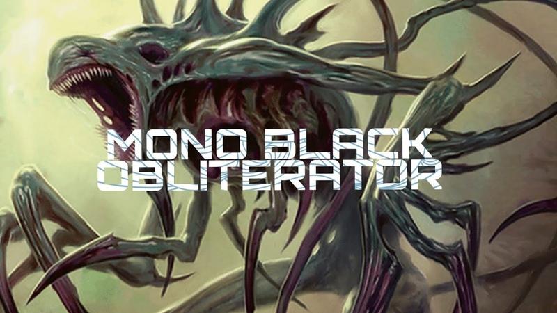 Modern Mono Black Obliterator 7 23 30