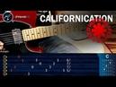 Como tocar Californication RHCP en guitarra Electrica   COMPLETA Principiantes