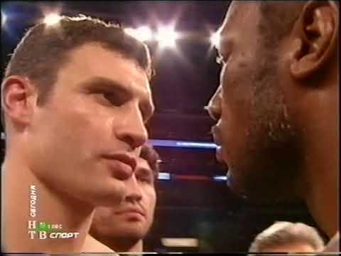 Виталий Кличко Леннокс Льюис Vitaly Klitschko vs Lennox Lewis