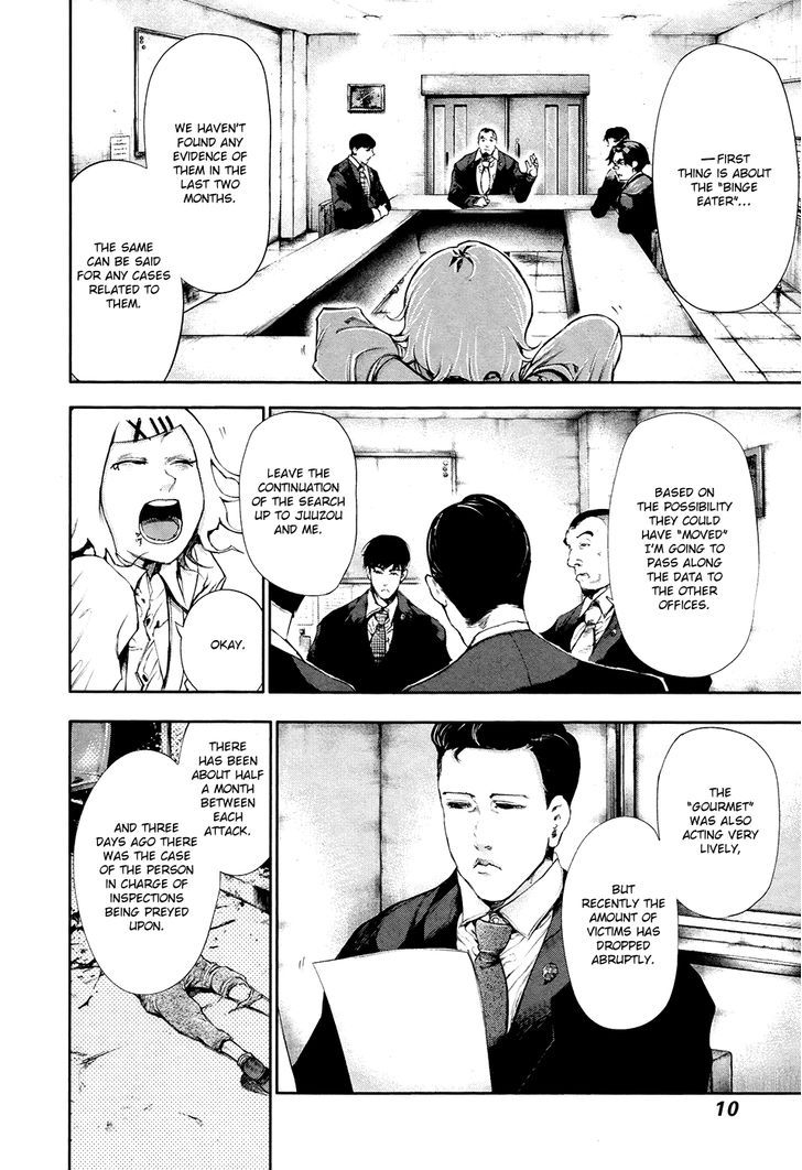 Tokyo Ghoul, Vol.6 Chapter 49 Caged Bird, image #8