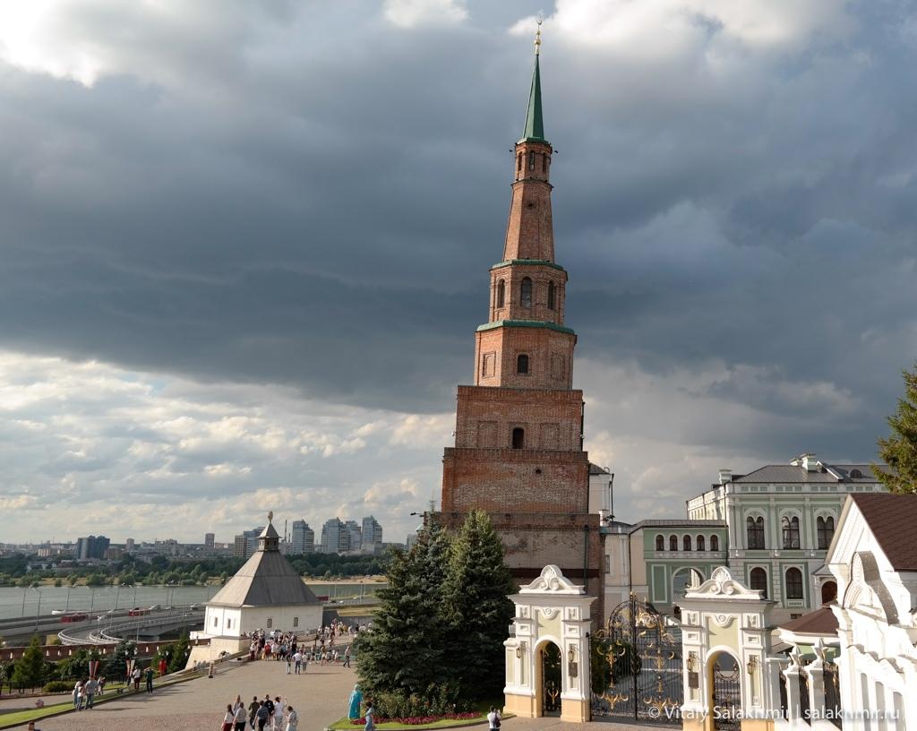 Башня Сююмбике, казанский кремль 2020