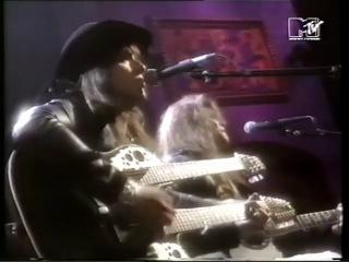 Jon Bon Jovi Richie Sambora Living on a Prayer Wanted Dead or Alive at MTV VMA's 1989
