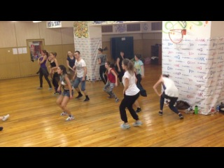 Dancehall class by Lera (T. O. K. routine 2nd group)