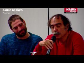 Фанни Ардан Fanny Ardant - Film Cadencias Obstinadas. Лиссабон (16.01.2013)