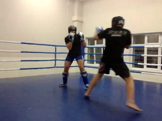 Спаринг по боксу 1 раунд