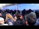 ЄВРОМАЙДАН Евромайдан : 22.02.2014 в Севастополь вернулись зашуганный Беркут - они теперь боятся толпы ( 22 лютого февраля 2014 )