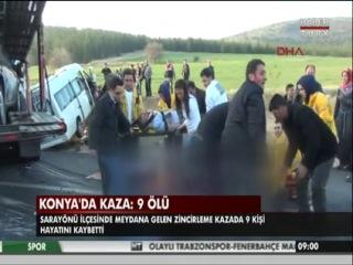 Türkiyədə avtobus aşıb 9 ölü xeyli yaralı var 1