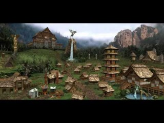 Heroes of Might and Magic 3 Rampart Town Theme Music  (Fully Animated) (1999, NWC/3DO)