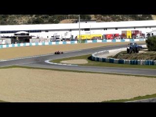 Sergio Perez Driving the McLaren MP4-28 - F1 Testing at Jerez 2013