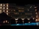 Очень красивое освещение отеля и территории Mardan Palec