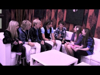 Interview with: R5 - 12/19/12 - Freehold, NJ. - iPlayAmerica