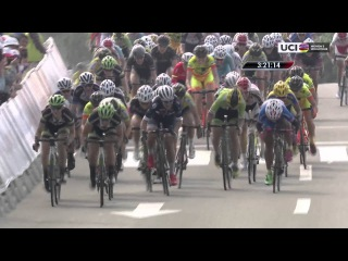 2016 UCI Women's WorldTour - Highlights from 1st stage of Tour of Chongming Island