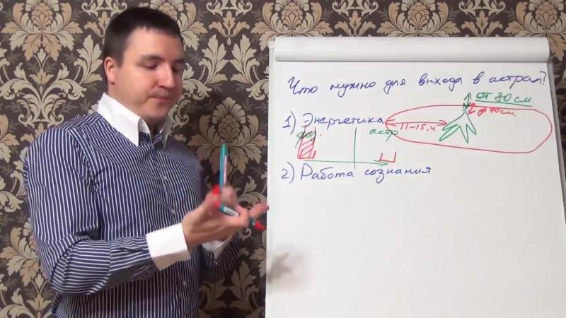 Евгений Грин Что нужно для выхода в астрал Энергетика и астральные вибрации тела