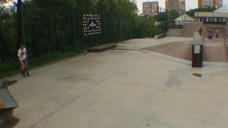 Maxim Makarimov 360flip 220 The Skate Pub Battle 2016
