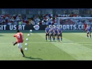 FIFA 18 17 ALL FREE KICKS TUTORIAL TRIVELA KNUCKLEBALL DRIVEN RABONA